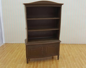 MPC Dollhouse  China Hutch Furniture Multiple Plastics Corp MPC Brown