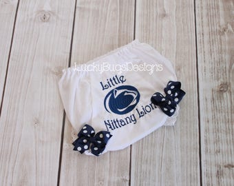 Baby Girl Penn State Bloomers- NEW DESIGN