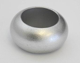 YCC Linen - Acrylic Glittering Napkin Rings Silver