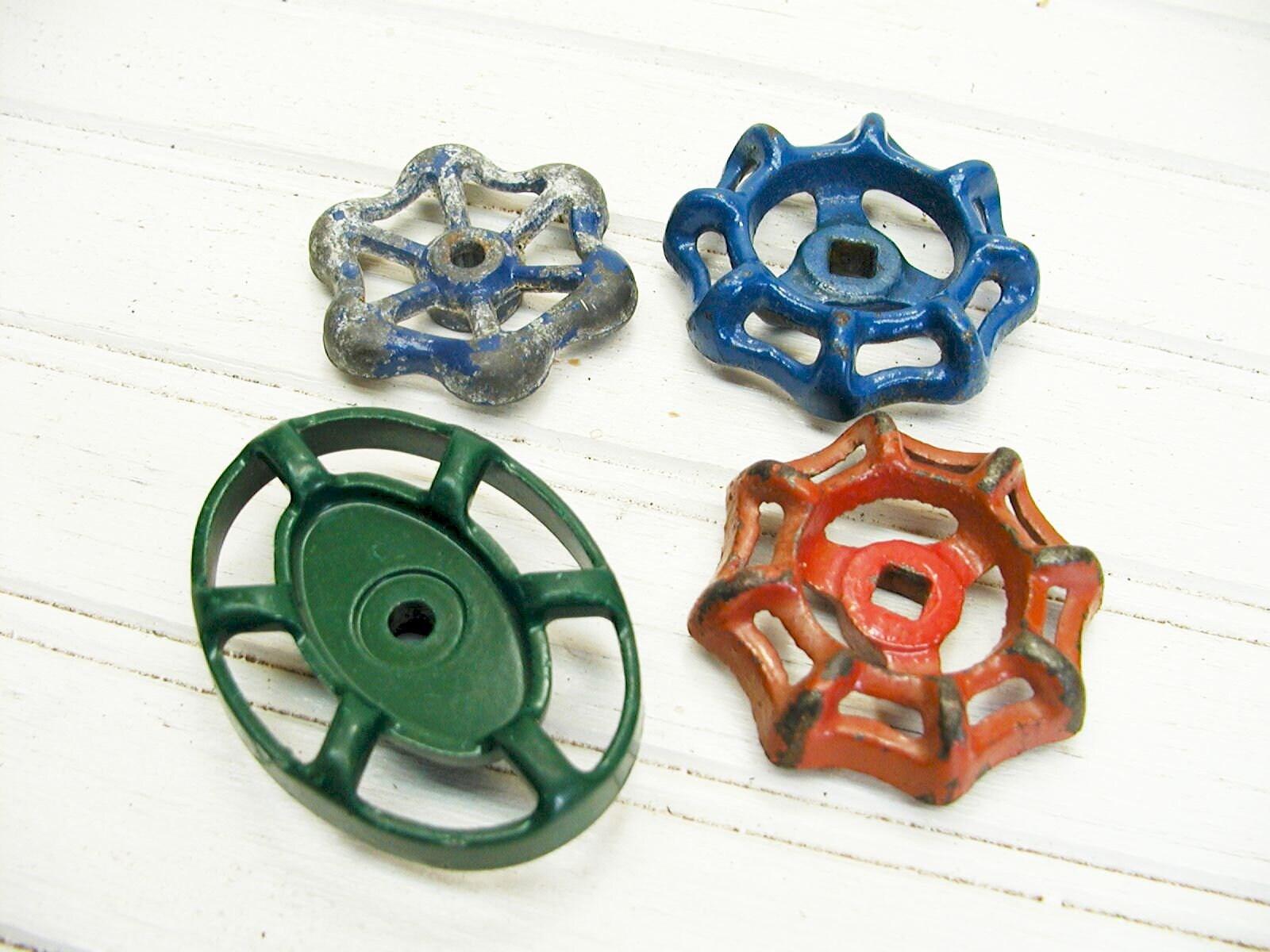 Industrial Faucet Valve Handle Lot - Steampunk Valve Wheel ...