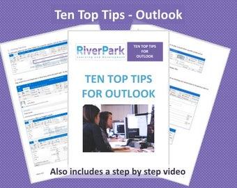Ten Top Tips - Outlook