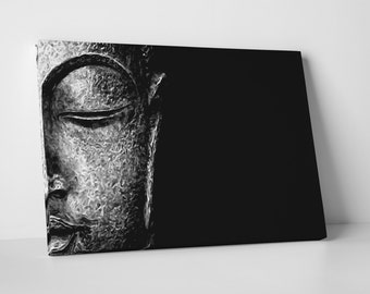 Who Art Now 'Buddha Visage' Gallery Wrapped Canvas Print