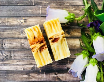 Turmeric Soap - Unscented Turmeric Soap - Eczema Soap - Inflammation Soap - All Natural Soap - Spice Skin care - Acne Treatment - Palm free