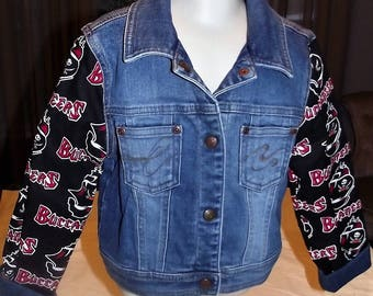 Refurbished Denim Girls Jacket, Size 3