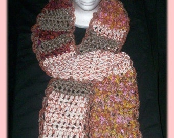 Viking Scarf with Hat Crochet pattern