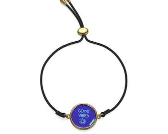 Good Vibes Cord Bracelet