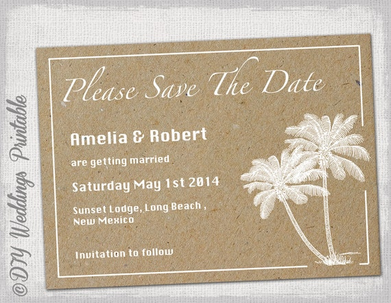 word save the date templates