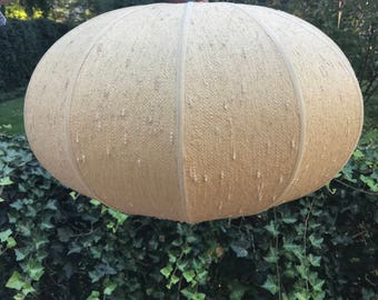 "Mid Century Modern ""Bubble"" style pendant lampshade"