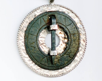 Viking Brooch with Inscriptions