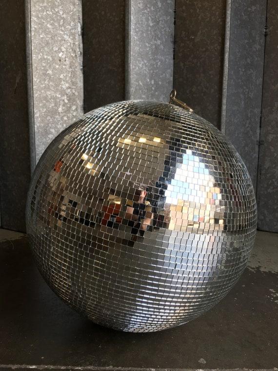 Vintage original disco mirror ball globe circa 1970's