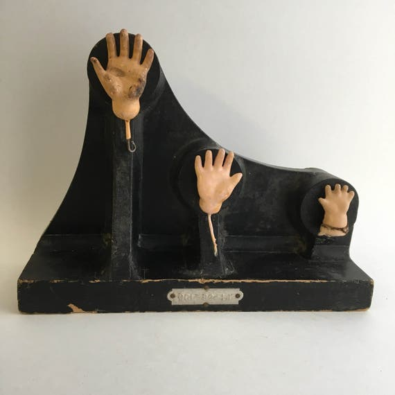 Three Small Hands Sculptural Assemblage