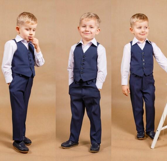 Ring bearer outfit Boy wedding suit Boy suit Boy wedding