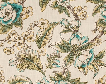 New! Curtains, Linen Curtains, Floral Pattern, Custom Drapes, Pleated Drapes, Window Treatments, Made to Order, *Spring*