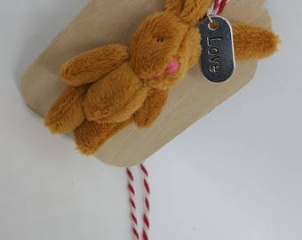 bunny gift tag - limited number