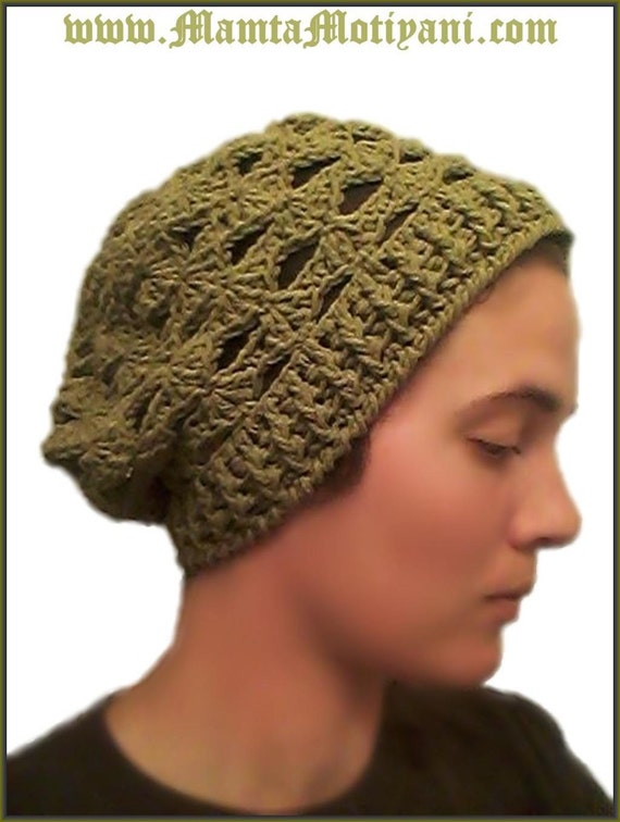 Beret Style Knit Hat Pattern Review