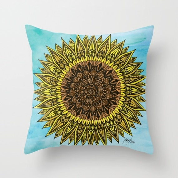 Zentangle - Sunshine Pillow Case