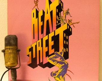 "1980s Film Breakdancing Movie Soundtrack 1980s New York Hip Hop Culture DJ Life Graffiti Artists ""Beat Street, Vol.1"" (1984 Atlantic)"