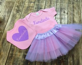 Newborn Coming Home Outfit, Newborn First Pictures, Newborn Tutu Outfit
