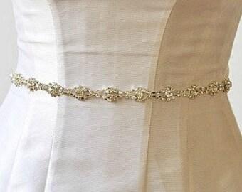 Sale BRIDAL RHINESTONE BELT, bridal rhinestone belt ,Bridal Crystal Sash ,Bridal Crystal Belt ,wedding rhinestone sash, wedding crystal sash