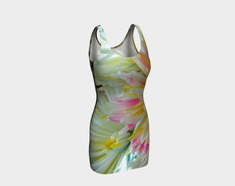Flowers Bodycon Dress. U will look absolutely fabulous in your new spring dress by Douglas....:>)