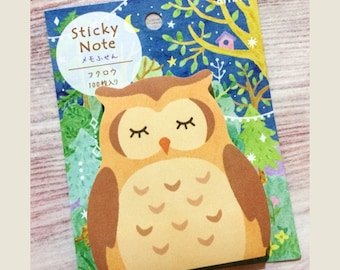 Owl Sticky Notes from Japan