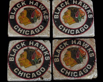 Chicago Blackhawks Coasters