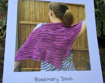 A shawl for Jos pattern