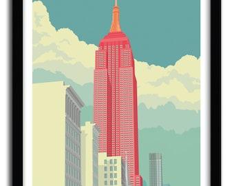 5th Avenue Art Print by REMKO HEEMSKERK