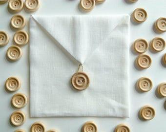 Linen favor/gift/candy/jewelry packaging envelope bags.Wedding favors.Linen packaging bags/purse/sachet.