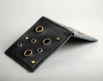 Leather Wallet « Mystery»