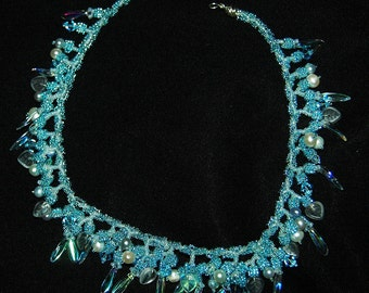 cold and twisted  necklace