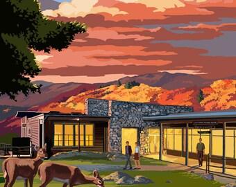 Shenandoah National Park, Virginia - Skyland Resort - Lantern Press Artwork (Art Print - Multiple Sizes Available)