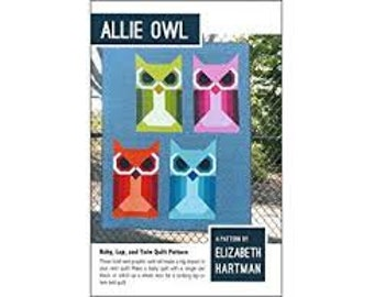 Allie Owl by Elizabeth Hartman