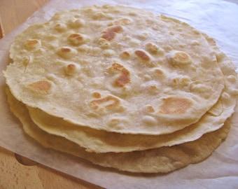 Favorite Flour Tortillas Homemade, PDF Recipe