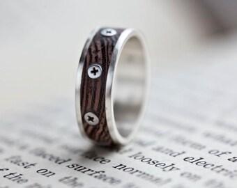 Steampunk Ring - Size Medium N/6.5