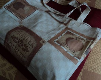 Washable, ironable duty cotton bag for sustainable development