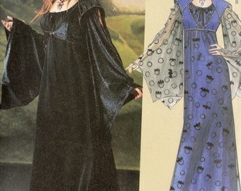 GOTHIC GOWNS McCall's COSTUMES Pattern 4089  Misses Sizes 14 16 18 20