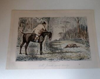 John Leech Mr Jorrocks wants twenty Engraving 19th century