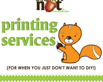 Professional Print Service / Print for Me / Printed Invites / Printing Service / Invitation Printing / Double Sided / Print and Mail