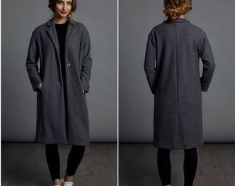 The Coat PDF sewing pattern