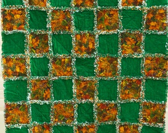 Handmade Flannel Rag Quilt