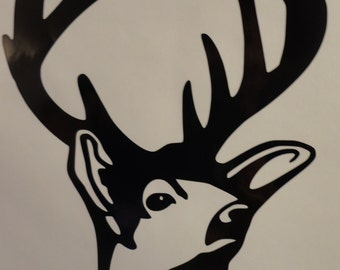 Deer car decal
