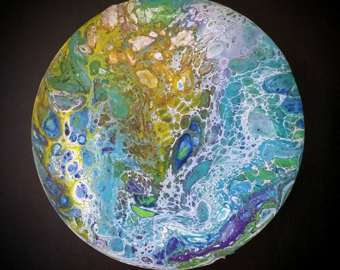 "Fluid painting-""arborea""-Fluid painting-""Arborea"""