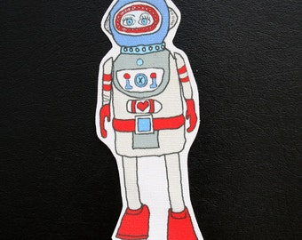 Scubabot Robot Patch