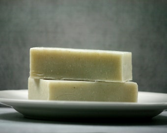 Lavender Rosemary French Clay Soap Bar - Great Facial Soap with Essential oils