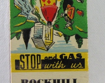 1940s Rockhill Kinney Gas Station Hastings MI Michigan Phone 2155