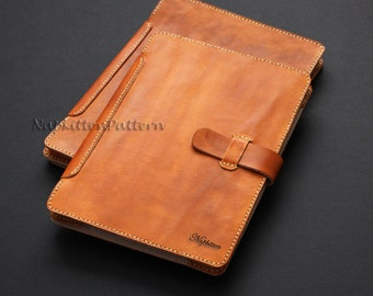 Leather IPad case pattern, Leather bag tutorial, leather pouch pattern - PDF file Email delivery - Make it Yourself