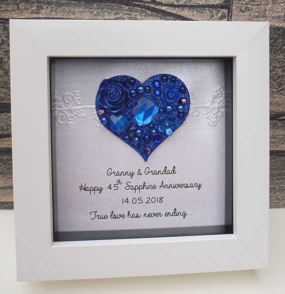 65 Wedding Anniversary Gift