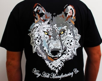 Henna Wolf T Shirt