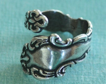 Silver Spoon Ring Finding 2638